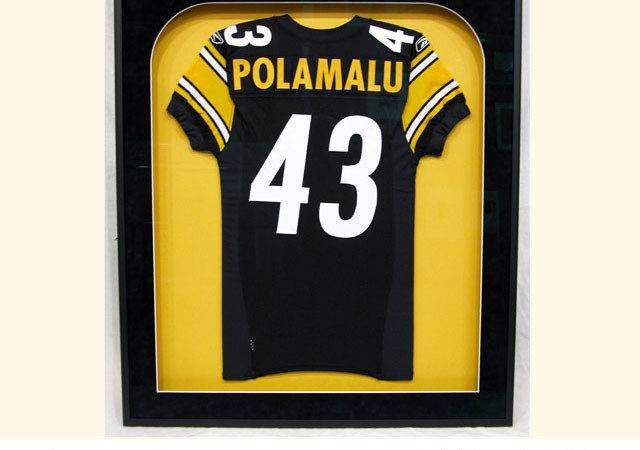 Shadowbox Special Edition Jersey Framed Matted Frame