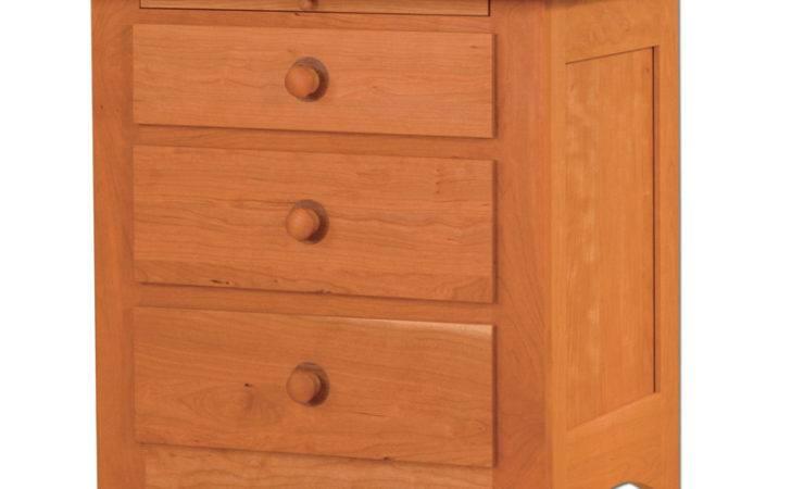 Shaker City Nightstand Amish Furniture Designed