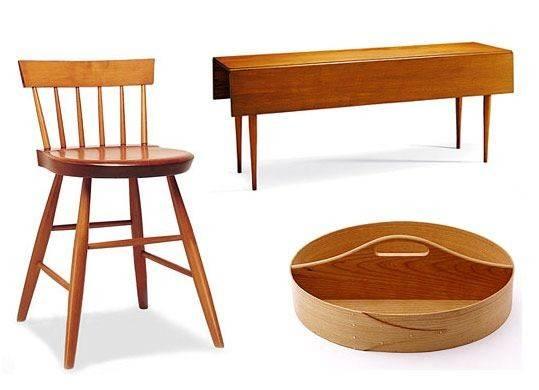 Shaker Modern Simple Life Durable Furniture