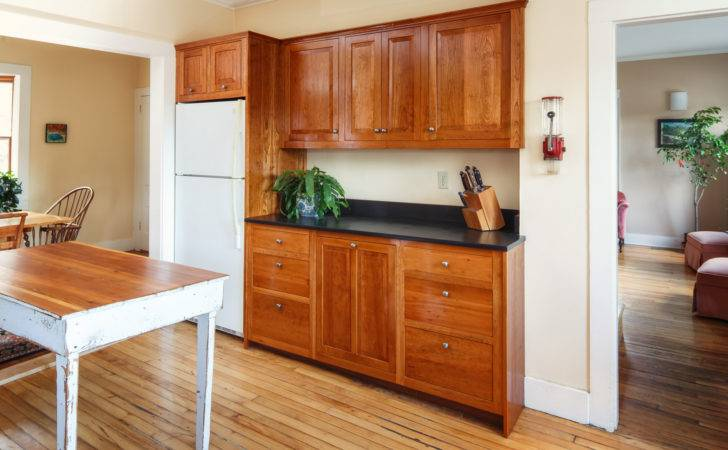 Shaker Style Cherry Kitchen Cabinets Cabinetry