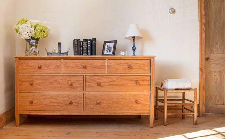Shaker Style Drawer Dresser Solid Wood Bedroom Storage Furniture