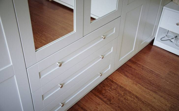 Shaker Style Wardrobes Mirrored Doors