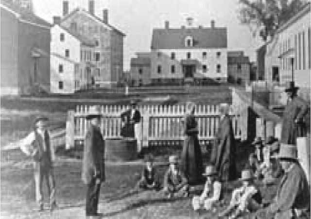 Shakerism Unmasked Watervliet Shaker Village Albany New York
