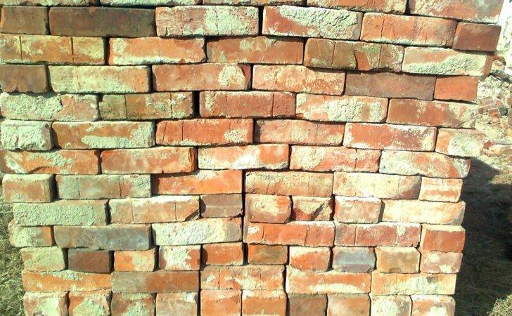 Shalled River Stones Reclaimed Bricks Modern Wall History