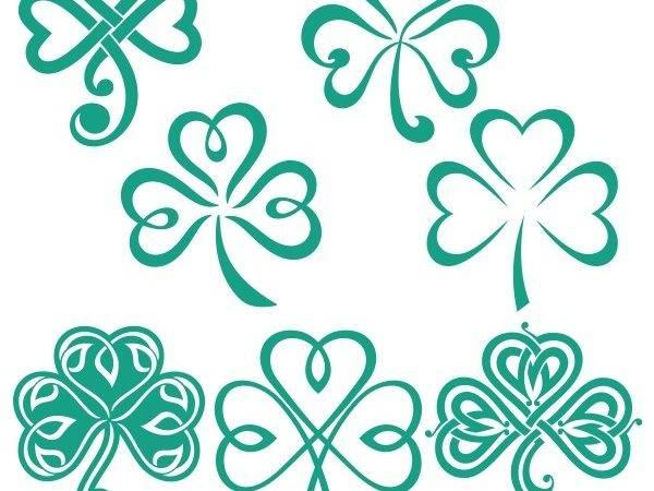 Shamrock Luck Irish Svg Cuttable Designs