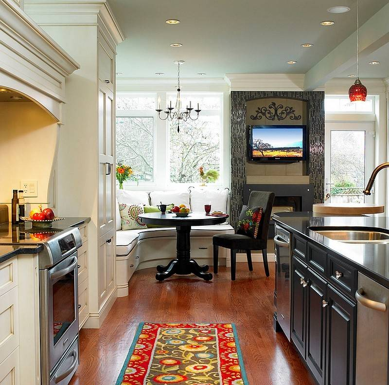 Shape Small Dining Space Kitchen Corner Design Sky
