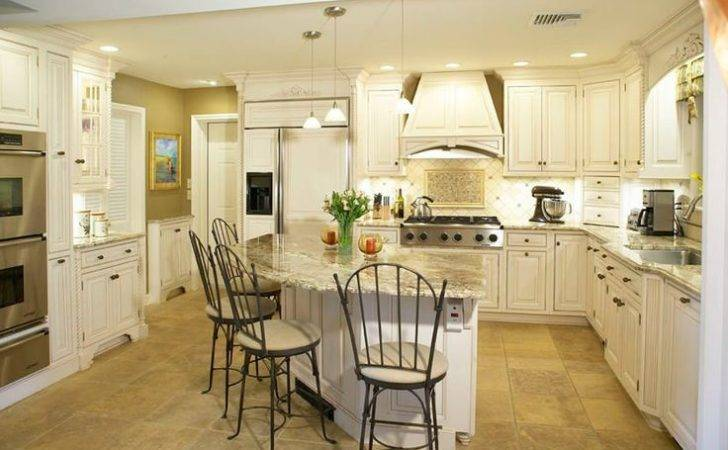 Shape White Kitchens Granite Pinterest