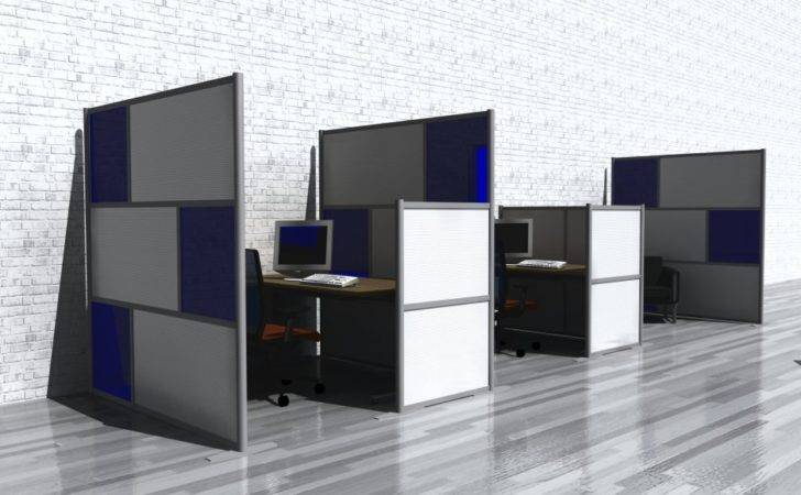 Shaped Room Divider Cubicle Home Office Sets