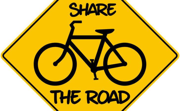 Share Road Sticker Bicycle Decal Safety Urban Ebay