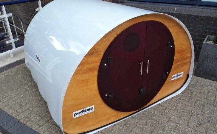 Shedworking Podtime Outdoor Sleep Pods