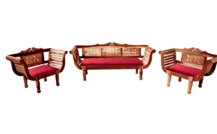 Sheesham Wood Sofa Set Mudramark Sets Furniture