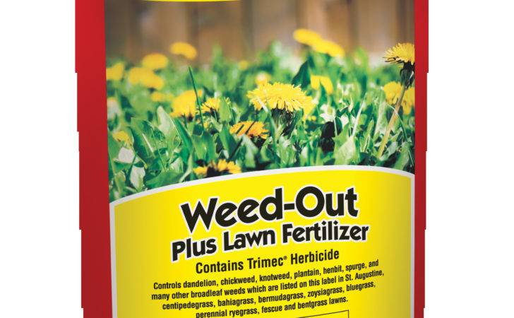 Sheet Weed Out Plus Lawn Fertilizer Label