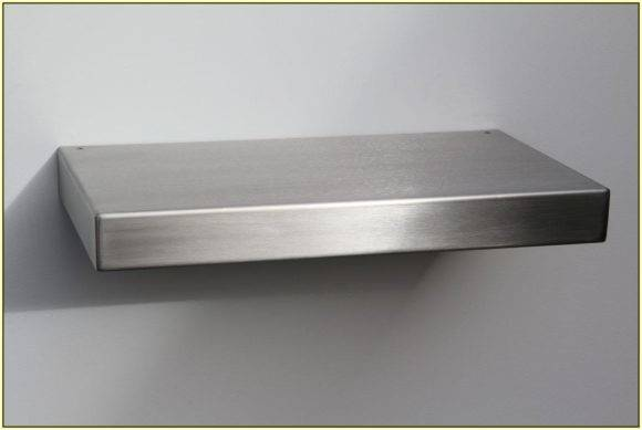 Shelf Made Stainless Steel Design Sophisticated