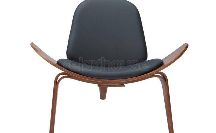 Shell Chair Front Black