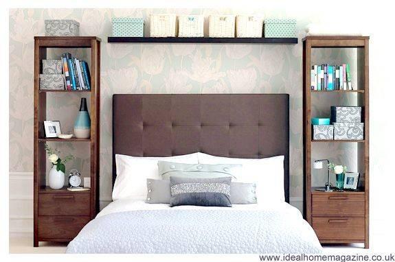 Shelves Around Bed Apartment Pinterest