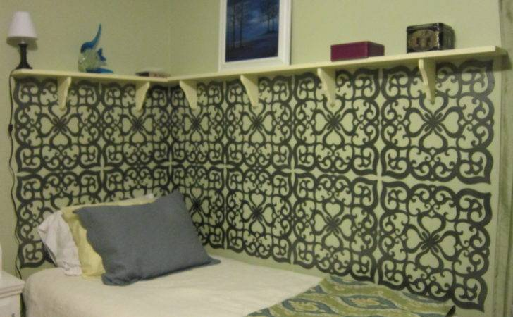 Shelves Around Twin Bed Dyi Pinterest