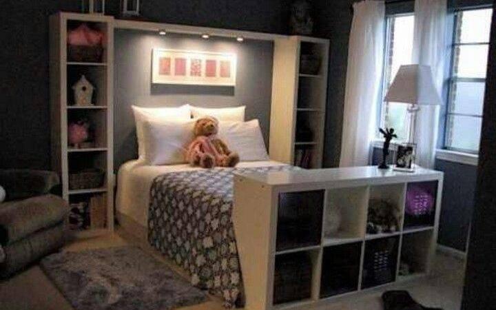 Shelves Over Bed Home Pinterest