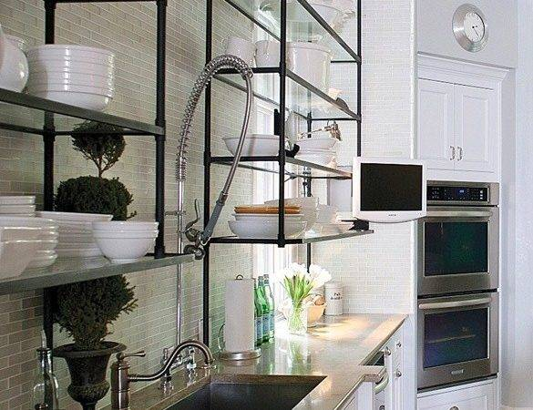 Shelves Wire Hanging Shelf System Diy Ceiling