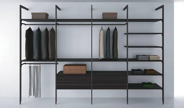 Shelving System Modern Closet