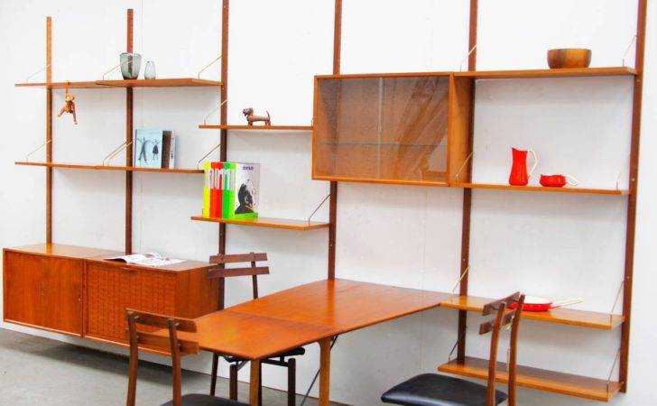 Shelving System Poul Cadovius Royal Teak Mid Century Danish Modern
