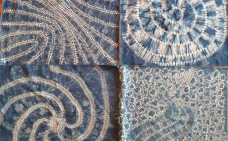 Shibori Folding Techniques Various