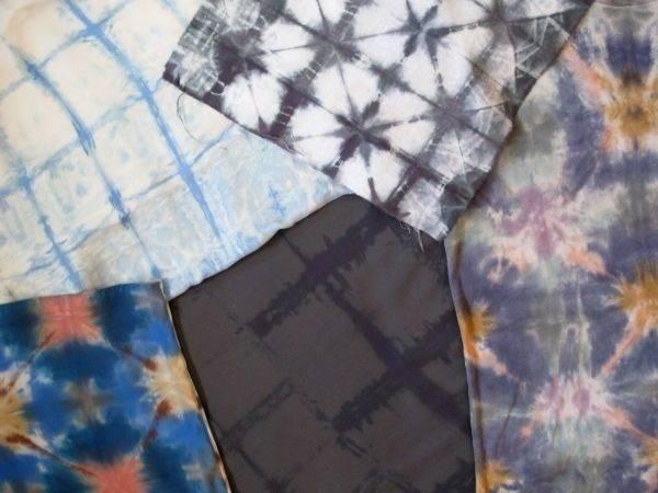 Shibori Itajmie Fold Dye Techniques Diy Pinterest