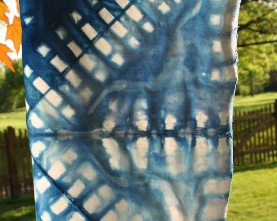 Shibori Tie Dye Folding Techniques Pinterest