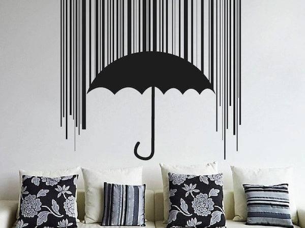 Shieldbrella Wall Decal Cool Designs Trendy