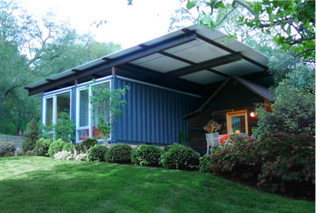 Shipping Container Home Additions