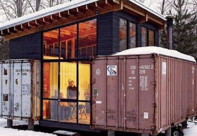 Shipping Container Home Tour Containers Welded Together