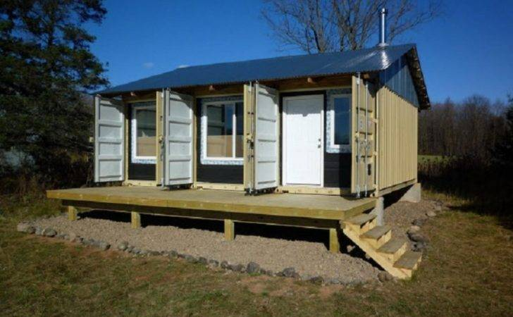 Shipping Container Homes Single Conatiner