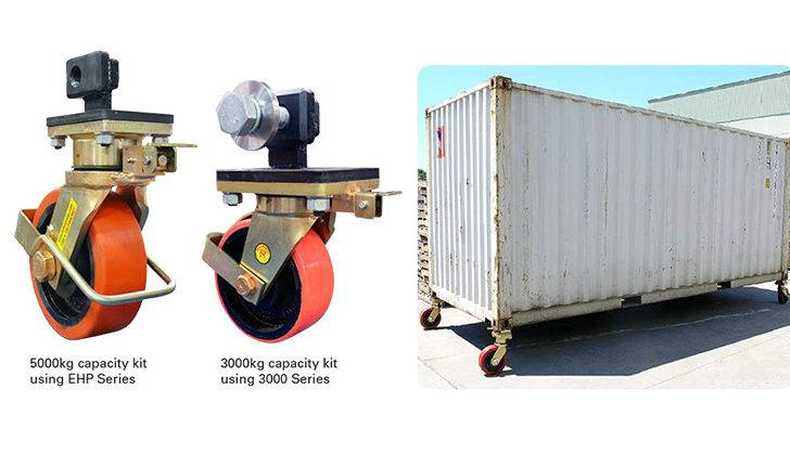 Shipping Containers Have Left Right Fittings Order