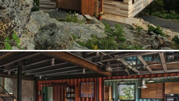 Shipping Containers Tree Houses New Homes Consider Green