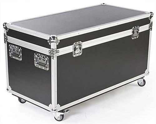Shipping Storage Case Locking Wheels Foam
