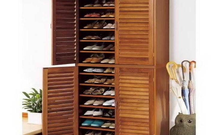 Shoe Cabinets Doors Large Design
