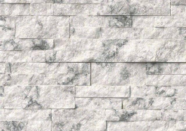 Shop Houzz Meraki Landscape Princess White Quartzite Stacked Stone