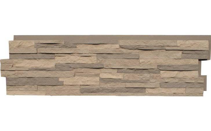Shop Nextstone Stacked Stone Kentucky Gray Faux Veneer Lowes