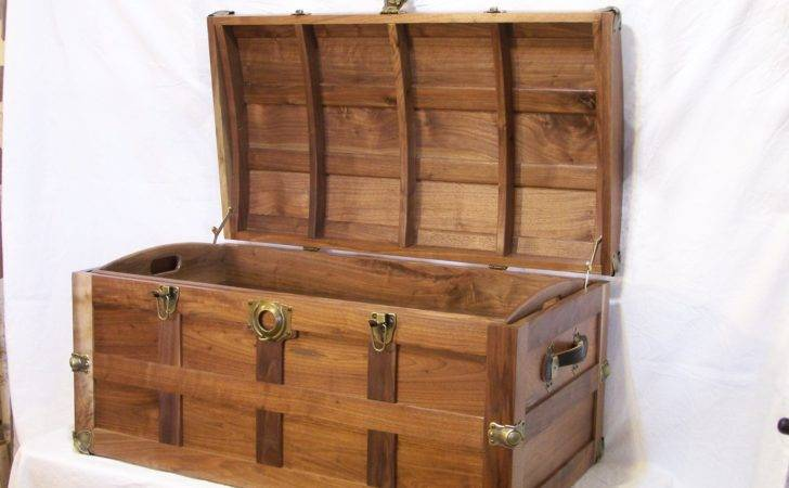 Shop Notes Steamer Trunk Done