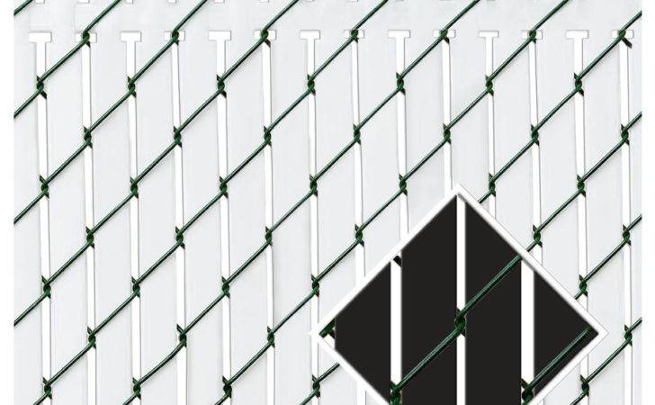 Shop Pexco Black Chain Link Fence Privacy Screen Lowes