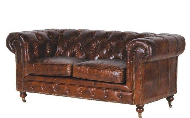 Shoreditch Vintage Chesterfield Sofa Seater