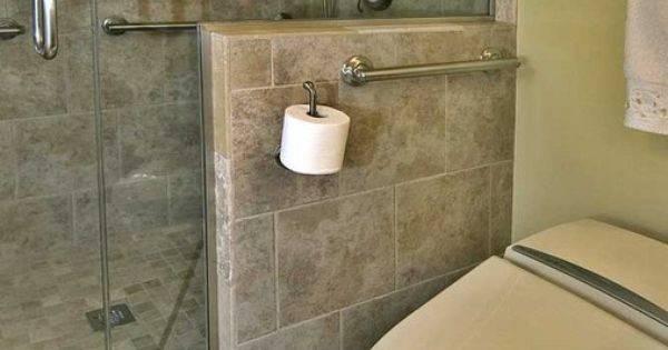 Shower Toilet Comfort Height Design Universal
