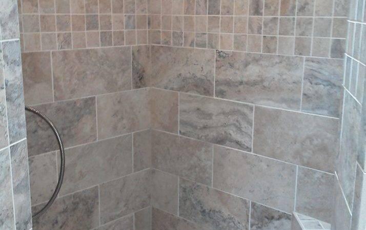 Showers Bench Excellent Concept Tile Redi Corner Shower