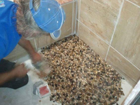 Showers Love Shower Bathroom Flooring Home Renovation