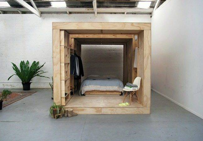 Sibling Wooden Sleeping Pods Cool Material