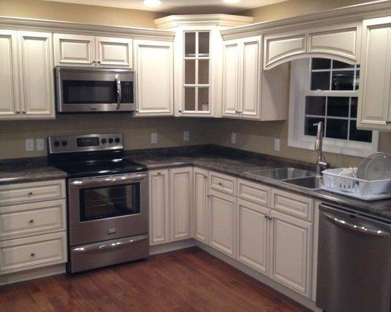 Signature Pearl Cabinets Slate Sequoia Countertops Leslie County