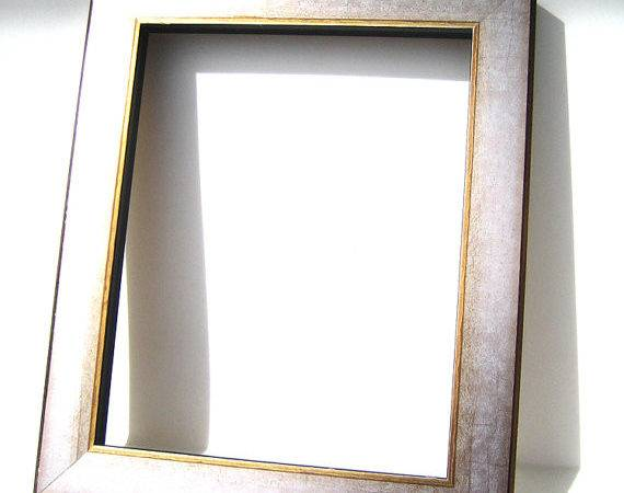 Silver Gold Wood Frame Contemporary Art Moulding