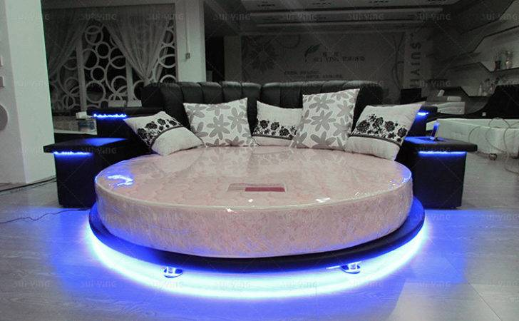 Silver Round Beds Bed Sale Modern