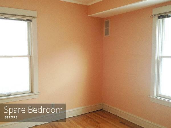Similar Other Bedroom Peach Walls Hardwood Floors