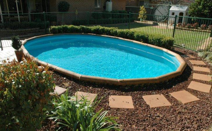 Simple Above Ground Pool Landscaping Ideas Start Building Backyard