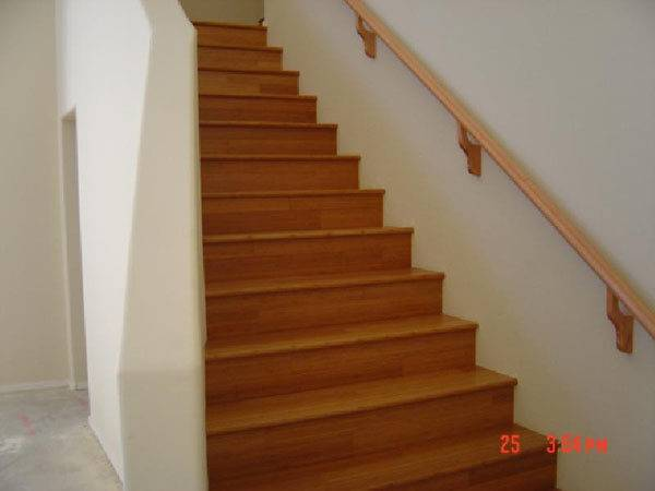 Simple Bamboo Stairs Small Space Stunning Staircase Design Ideas